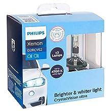 Philips D2R CrystalVision Xenon HID Headlight Bulb, Pack of 2