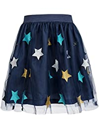 Girls Tutu Skirts Tulle Princess Dress Fluffy Ballet Skirt Layered Bubble Skirt
