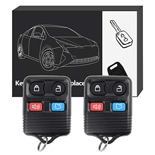 YITAMOTOR Keyless Entry Remote Control Key Fob Replacement 4 Button For CWTWB1U212 CWTWB1U331 GQ43VT11T CWTWB1U345 (Pack of 2)
