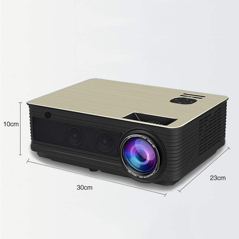 zyl Mini proyector, proyector Incorporado Bluetooth WiFi Proyector portátil móvil Adecuado para Muchas Ocasiones: Amazon.es: Hogar