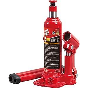 Torin Big Red Hydraulic Bottle Jack, 2 Ton Capacity