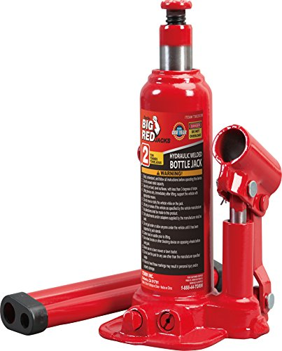 Torin Big Red Hydraulic Bottle Jack, 2 Ton Capacity