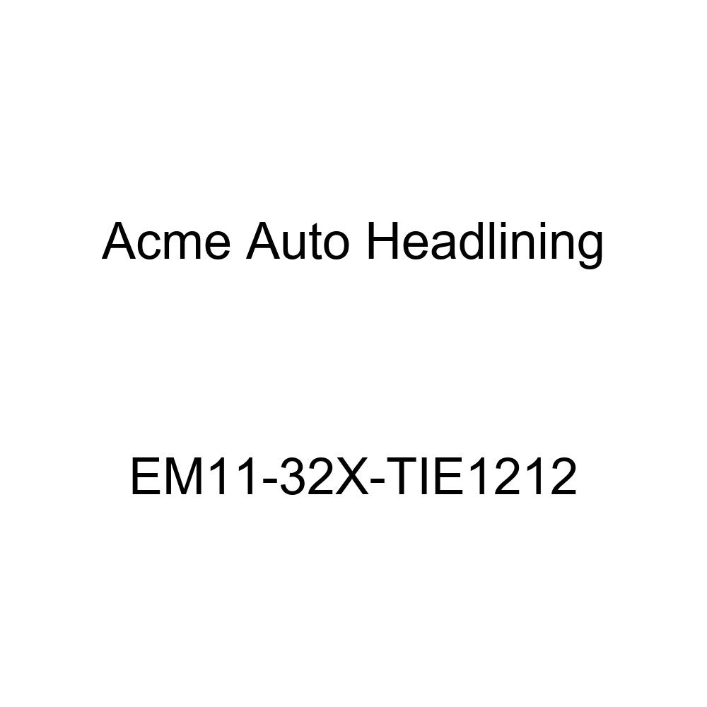 Acme Auto Headlining EM11-32X-TIE1212 Dark Blue Replacement Headliner 1961-64 Buick Invicta 4 Door Wagon - 5 Bow