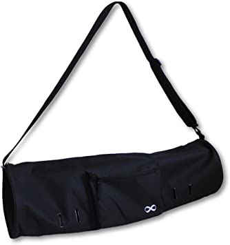 YogaAddict Large Yoga Mat Bag and Carriers Compact with Pockets, 28