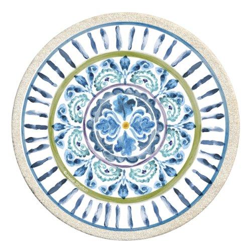 Thirstystone Drink Coaster Set, Mood Indigo I (Usa Tile Drink Coasters)