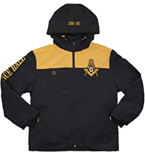 49d39b430af7 Amazon.com  Big Boy Prince Hall Mason Divine S4 Mens Windbreaker ...