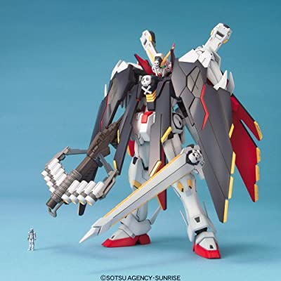 Bandai Hobby MG Crossbrone Gundam X-1 Full Cloth Crossbone Gundam: Toys & Games