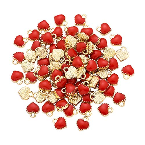 10 best heart charms for jewelry making bulk