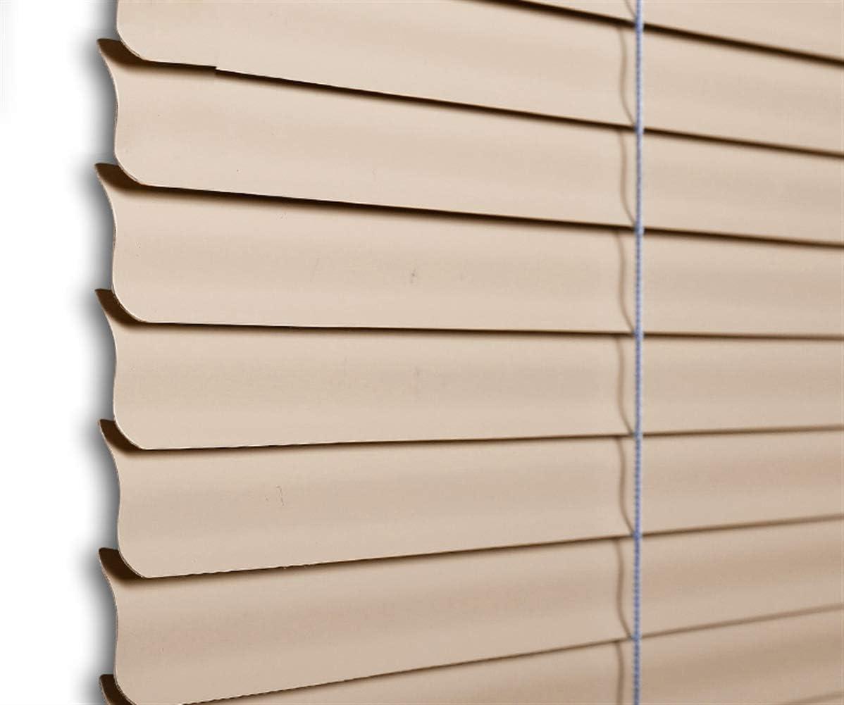 Liveinu 100/% Blickdicht Jalousie Ohne Bohren Wasserdicht Klebstoff Jalousie Plissee Rollo f/ür Fenster und T/ür Sichtschutz und Sonnenschutz Fensterrollo 45x120cm Khaki