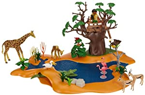 Amazon.com: Playmobil 4827 African Wild Life Set Wild Life