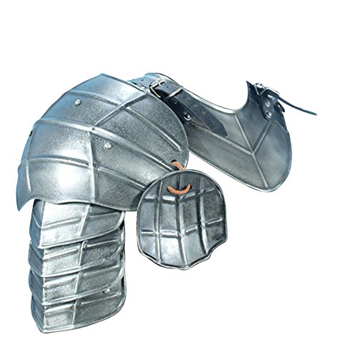 Armor Venue Medieval Dark Drake Pauldrons Shoulder Armour
