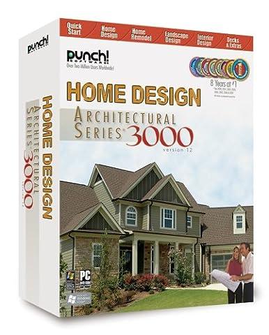 Punch! Home Design Architectural Series 3000 v12 (Cad Program Software)