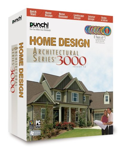 Punch! Home Design Architectural Series 3000 v12 (Favorite Objects Punch)