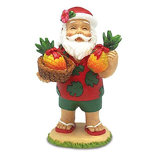 - Santa's Bounty Hawaiian Holiday Ornament