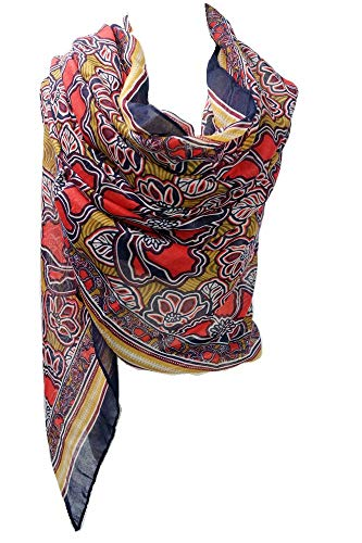 Womens Large Scarf Soft Scarves and Wraps Fashion Scarf with Handmade Fringe Wraps and Pashminas Shawls Fringe Scarf with Tassels for Autumn (color print3) (Print Winter Wrap)