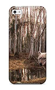 Sarah deas's Shop New Style Durable Wolf Back Case/cover For Iphone 5c 4818610K38149917