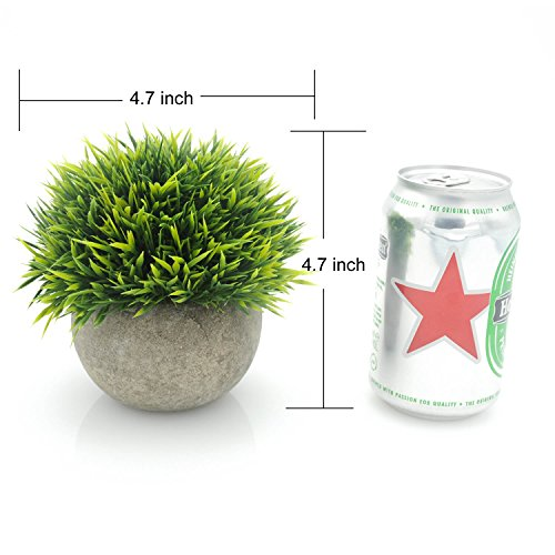 Velener-Mini-Plastic-Fake-Green-Grass-of-Plants-with-Pots-for-Home-Decor