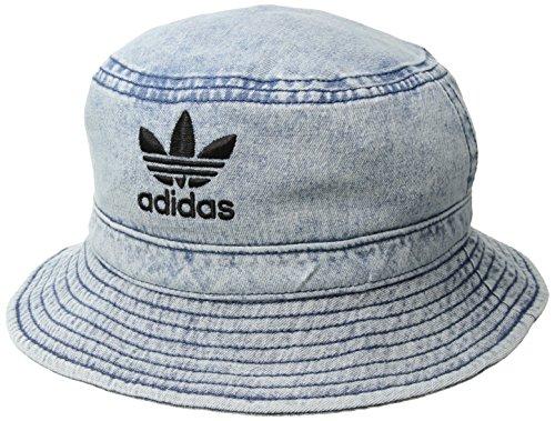 Headgear Denim Cap (adidas Originals Denim Bucket Hat, Collegiate Navy/Black, One Size)
