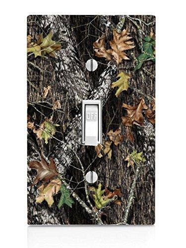 Mossy Oak Pattern Camo Light Switch Plate MWCustoms