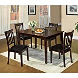 Cheap Venetian Worldwide West Creek I 5-Piece Dining Table and Chairs Set
