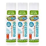 TruKid Eczema Daily SPF 30+ Face & Body Stick - 3 Pack