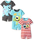 #8: Disney Baby Boys' Monsters Inc Sully and Mike 3 Pack Rompers
