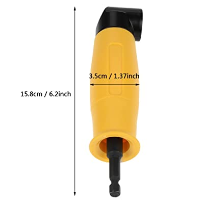 90 Degree Right Angle Extension Driver Electric Screwdriver Drill Bit Holder