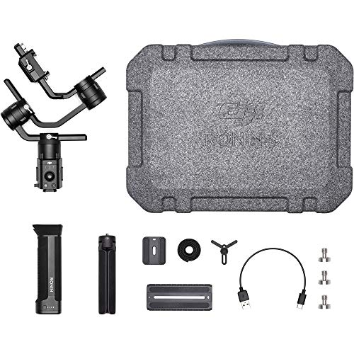 DJI Ronin-S Essentials Kit Handheld 3-Axis Gimbal Stabilizer with All-in-one Control for DSLR and Mirrorless Cameras Starters Bundle - CP.RN.00000033.01 by DJI (Image #5)