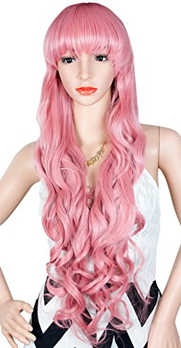 Inches Pink Cosplay Synthetic Women product image