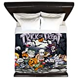 King Duvet Cover Halloween Trick or Treat Costumes