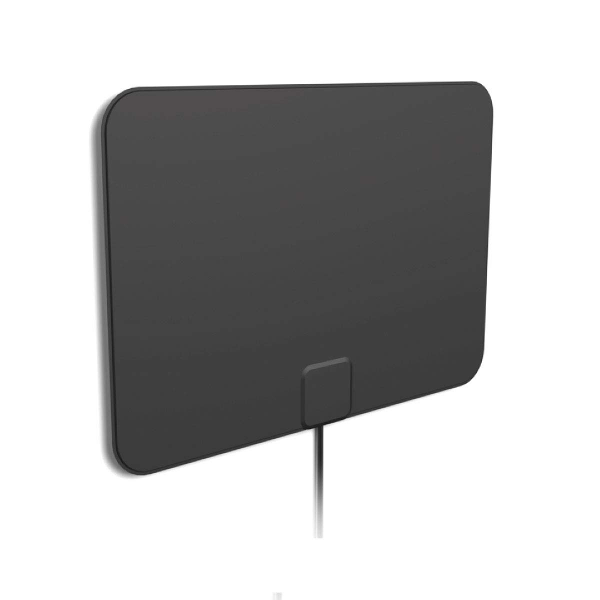 [2019 Latest] HD Digital Amplified TV Antenna - Support 4K 1080P & All Older TV's Indoor Powerful HDTV Amplifier Signal Booster - Coax Cable Included by 1 BY ONE