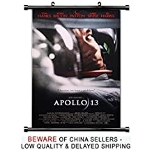 Apollo 13 Tom Hanks Movie Fabric Wall Scroll Poster (32x47) Inches