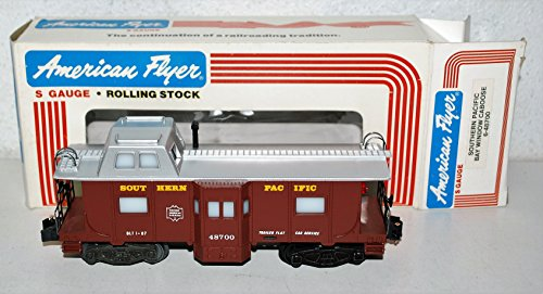 American Flyer 6-48700 Southern Pacific Bay Window Illuminated caboose SP HARR5