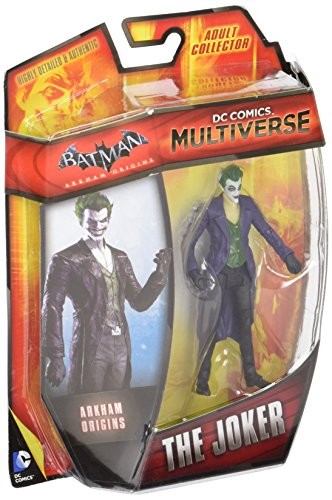 "DC Comics Multiverse 4"" Arkham Origins The Joker Action Figure"