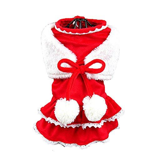 Old Navy Cat Costume (Boomtrader Pet Costume Puppy Dog Winter Furry Costume Cat Costume Dog Christmas Costume)