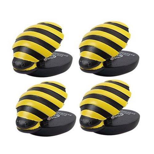 - Boston Warehouse Animal House Bee Magnet Mini Clip, Set of 4