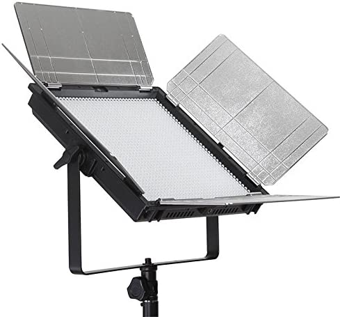 ILEDGear 1296 LED 98TLCI Daylight Panel Light with V-Mount Plate and Smart SYNC Control