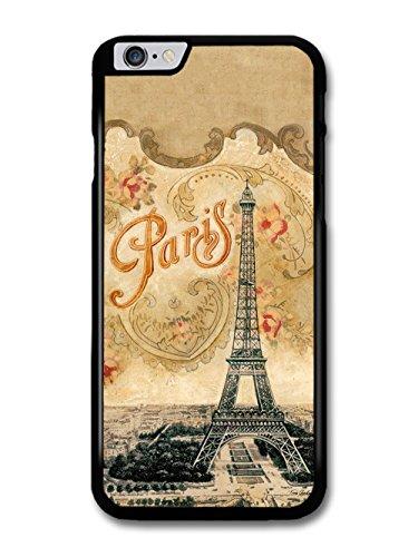Paris City Eiffel Tower Old Illustration Art Nouveau coque pour iPhone 6 Plus 6S Plus