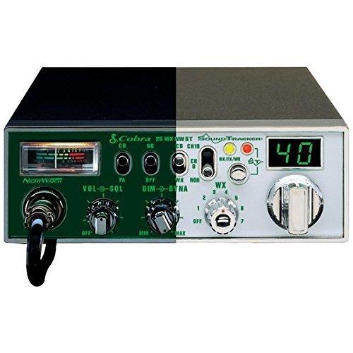 Cobra Electronics Classic Cb Radio With Soundtracker & Nightwatch Illuminate