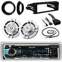 iPod Marine Radio,Harley FLHT Install FLHX Kit ,Kenwood 6.5Speakers & Adapters