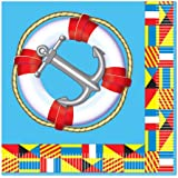 Nautical Luncheon Napkins (2-Ply)    (16/Pkg)