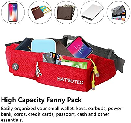Haters Gonna Hate Sport Waist Bag Fanny Pack Adjustable For Run