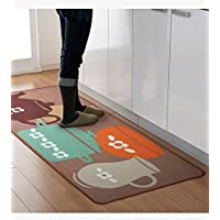 Designer Teapot Print Area Rug,Unique Room Floor Mats,Modern Kitchen Rugs