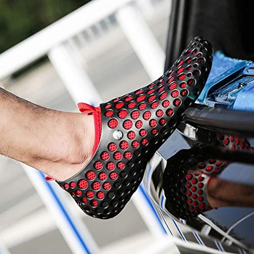 Black Sandali Red Uomo 40 Femaroly EU xEFawPwqd