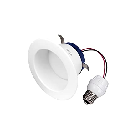 Cree DRDL4-06250009-12DE26-1C100 4 In. TW Series 65W Equivalent Daylight (5000K) Dimmable Led Retrofit Recessed Downlight - - Amazon.com