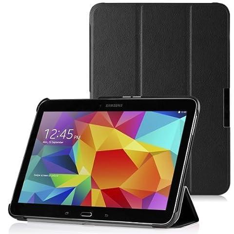 WAWO Samsung Galaxy Tab 4 10.1 Inch Tablet Smart Cover Creative Fold Case - Pink (Tablet Samsung Tab4 10)