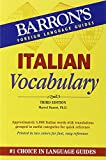 Italian Vocabulary %28Barron%27s Vocabul
