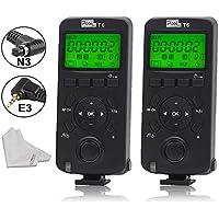 Pixel T6 FSK 2.4GHz Wireless Transceiver Timer Shutter Release Remote Control for Canon EOS 7D 5DS 1DS 6D 50D 40D PoweShot G16 700d EOS 1100D 600D 550D 500D