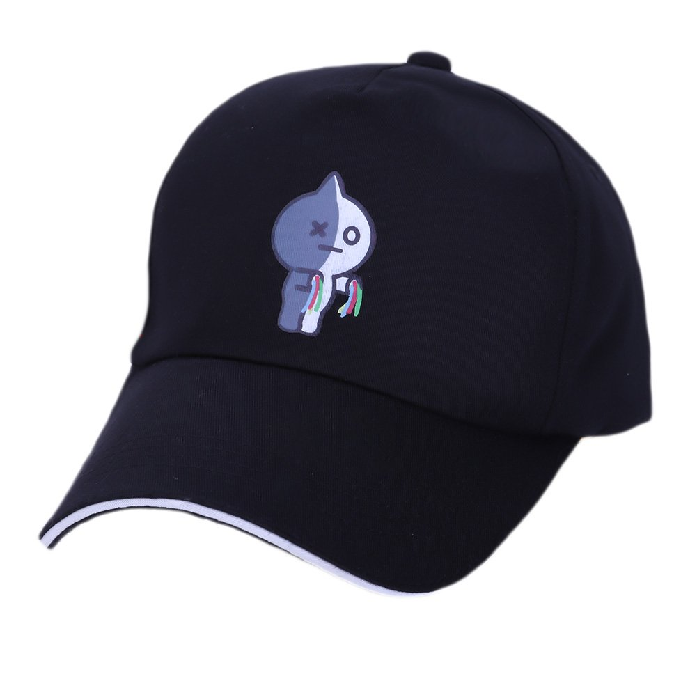 Bosunshine has the same style as Jimin&39; S V&39; S GD&39; S iron ring adjustable baseball cap for boys and girls with back buckle hip hop flat cap.