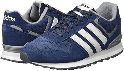 0k Chaussures collegiate De Homme One Grey Gymnastique Adidas F17 Three Runeo F17 Navy Pour pw5q04nZx
